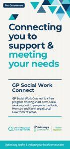 GP Social Work Connect brochure image