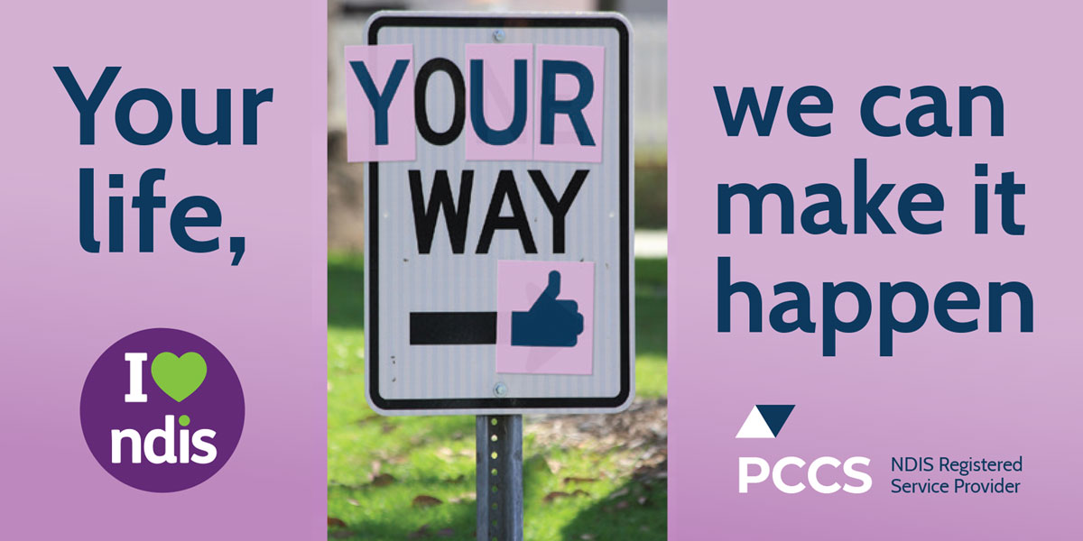 NDIS your way PCCS banner